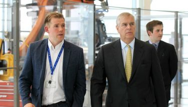 Factory of the Future - HRH The Duke of York was given a tour of the facilities at Factory 2050 - image courtesy of the University of Sheffield.