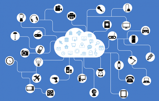 Stock IoT IIoT Internet of Things Network Data Connectivity – image courtesy of Pixabay.