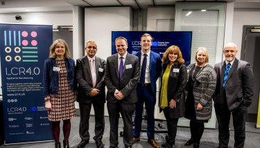 Industry 4.0 Manufaturing Innovation - The team at LCR 4.0, which is a part of the Liverpool City Region Local Growth Hub – image courtesy of LCR 4.0.