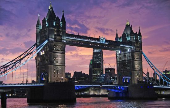 London Night Tower Bridge Thames UK Export Excellence Awards Stock - iamge courtesy of Pixabay