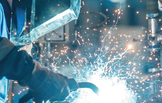 Orgalime Automation Welding Manufacturing Stock Image