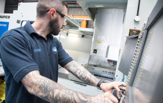 A&M EDM, which is the Express and Star's SME of the Year, currently employs six apprentices out of its 58-strong workforce, with two former apprentices continuing with their