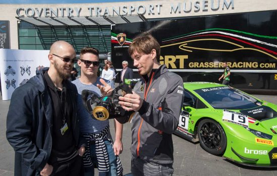 GT Motorsport - Christian Engelhart discussed his own love for manufacturing, his degree in mechanical engineering and the importance of teamwork - image courtesy of Brose.