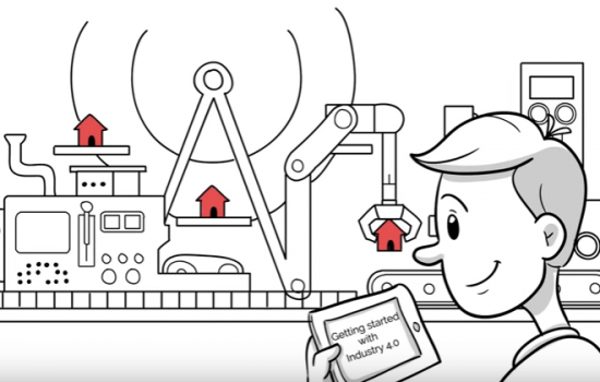 Getting started with Industry 4.0 - image courtesy of IBM