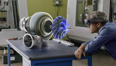 Manufacturing technologies will be accelerated, through digital advances, such as augmented reality [AR] and the Microsoft HoloLens – image courtesy of HVMC.