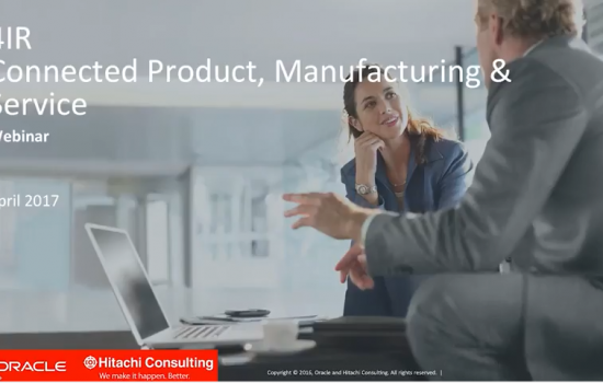 4IR: Connected product, Manufacturing & Service