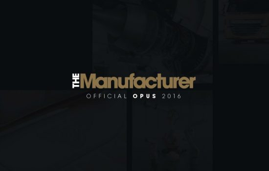 The Manufacturer Opus 2016 Front Cover