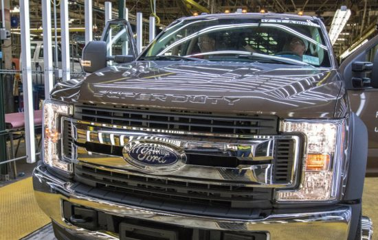 In April 2016, Ford announced a $200 million investment in its Ohio Assembly plant to build Super Duty chassis cabs - image courtesy of Ford.