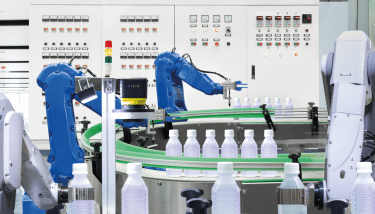 Industrial IoT applications are being developed to monitor robots, thereby reducing downtime and improving efficiency.