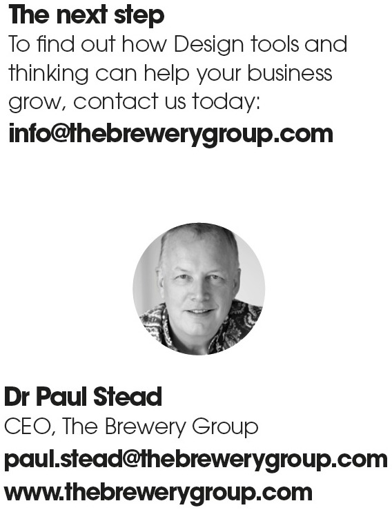 Paul Stead, Brewery Group - Design Thinking