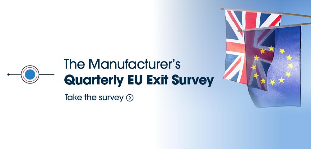 UK Manufacturers = TM Collaboratory EU exit survey article header