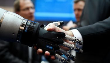 Digitisation - Collaborative robots or 'cobots' are about to fundamentally transform the way humans work in factories - image courtesy of Deutsche-Messe.presse@messe.de