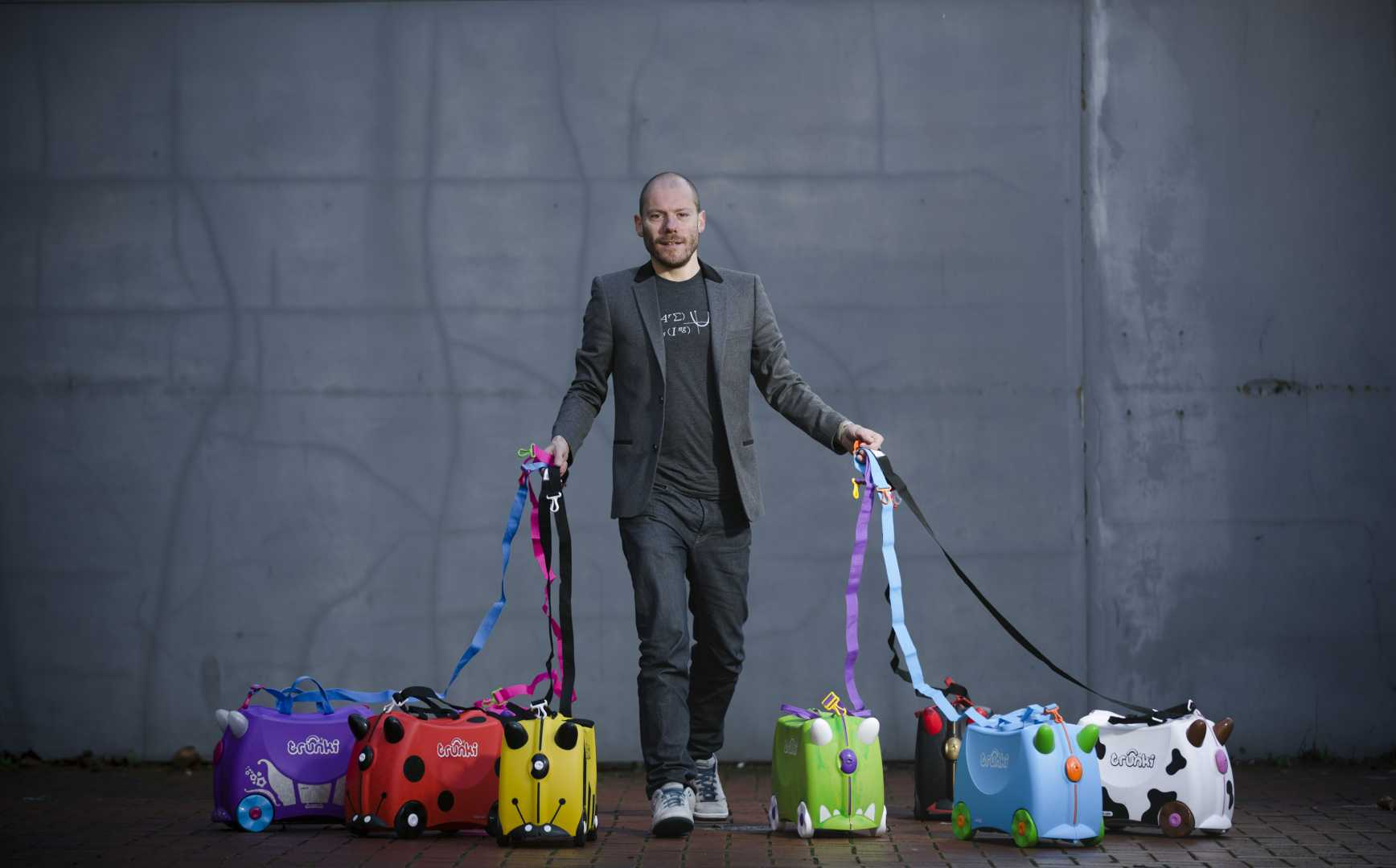 Rob Law's Trunki 'smart' factory is built around 4IR technologies that allow his customers to customise their orders in a way that would have been impossible using Chinese production – image courtesy of Trunki.