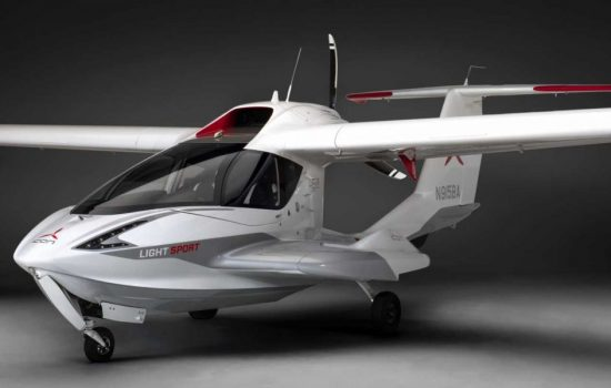 The ICON A5 aircraft is a newly released plane focussed on safety. Image courtesy of ICON Aircraft.