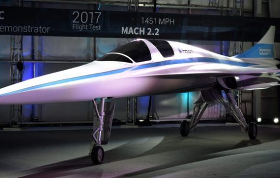 Supersonic Aviation - Stratasys empowers Boom to improve speed of development of XB-1, its supersonic demonstrator, taking flight next year – image courtesy of Boom.