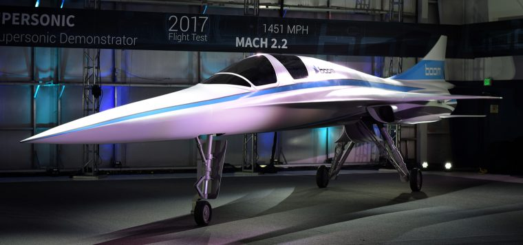 Stratasys empowers Boom to improve speed of development of XB-1, its supersonic demonstrator, taking flight next year – image courtesy of Boom.