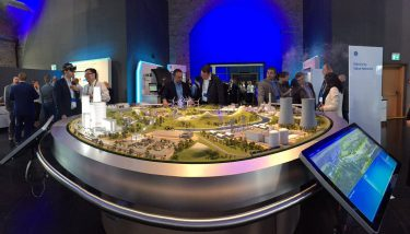 GE's vision of a digital 'Electricity Value Network' of the future – image courtesy of GE Power.