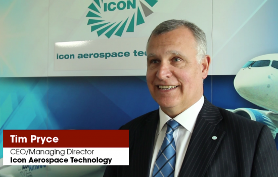 Tim Pryce, Icon Aerospace technology