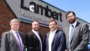 L to R: Martin Strutt (EEF), Warren Harvard (Festo GB), Nick Hussey (Hennik Group) & Mike Lewis (Lambert).