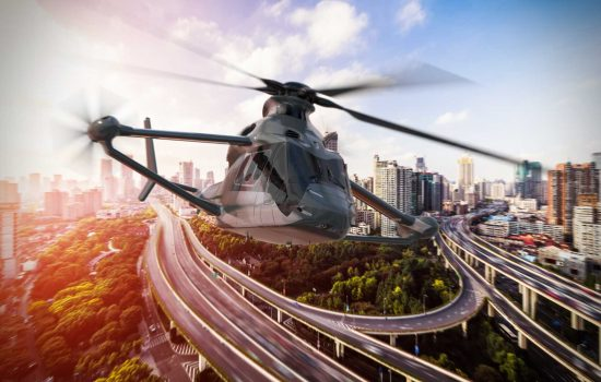 Airbus Helicopters 'Racer' (Rapid and Cost-Effective Rotorcraft) was unveiled at this week's Paris Air Show - image courtesy of University of Nottingham.