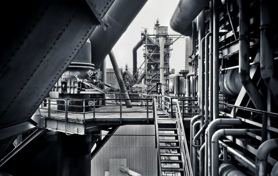 IR4 technologies enable iron and steel manufacturers to boost performance and gather data for improving production - image in courtesy of Pixabay