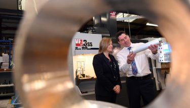 Diversification - Catherine Bray (Manufacturing Growth Programme) and Julian Crossley (Thermex Ltd).