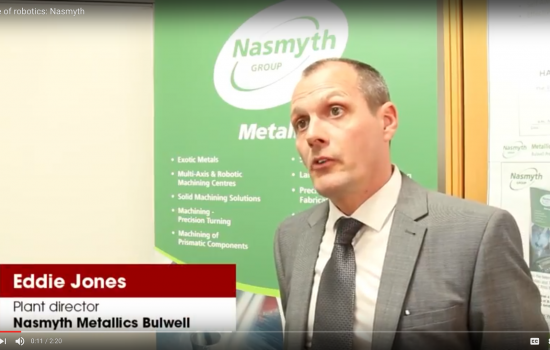Eddie Jones, plant director at Nasmyth Metallics Bulwell