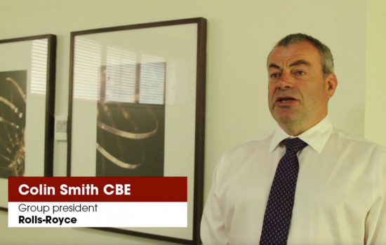 Colin Smith CBE, chair of Aerospace Growth Partnership and Group President for Rolls-Royce