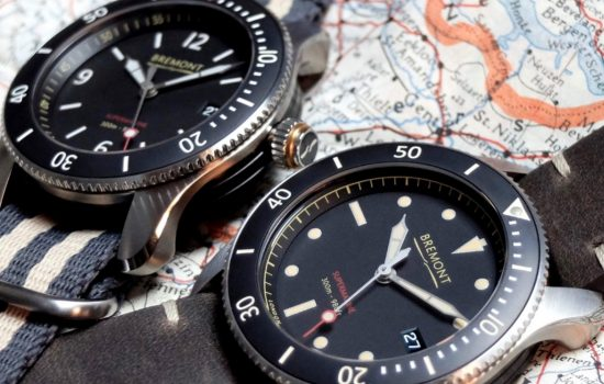 Bremont knows its branding – its Supermarine's namesake dervies from the 1930s aircraft company, Supermarine, whose first ever Spitfire prototype – the Type 300 – led to one of Britain's most iconic aircraft – image courtesy of Bremont.