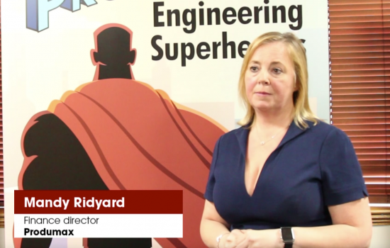 Mary Ridyard, finance director, produmax