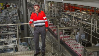 Trevor Stacey, supply chain operations director at Coca-Cola European Partners Sidcup.