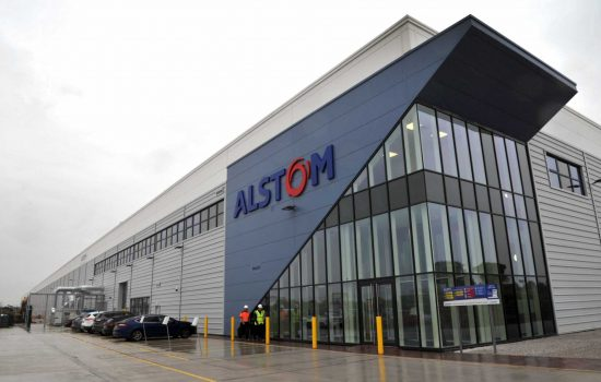 Alstom's new centre for train modernisation in Widnes - image courtesy of Alstom.