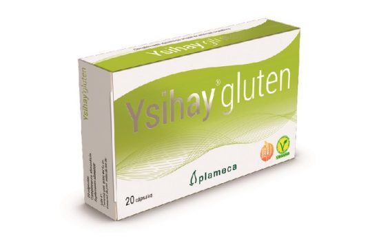 Ysihay Gluten, alimento que degrada el gluten