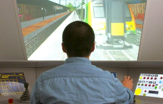 One of the three centres, located at the University of Birmingham, will focus on railway control and simulation, data integration and cybersecurity, condition monitoring and sensing – image courtesy of University of Birmingham.