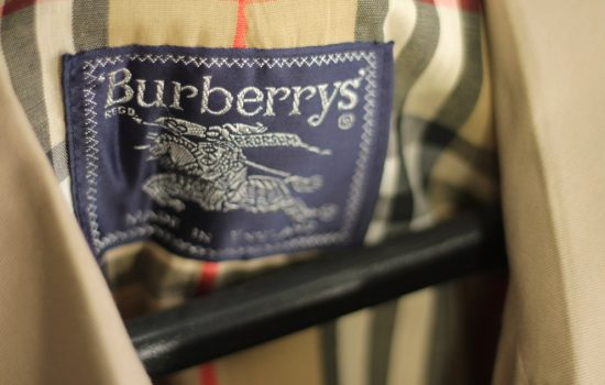Burberry's sales figures rose by 4% in the past three months mainly because the sales in China increased by 15% - image courtesy of Flickr
