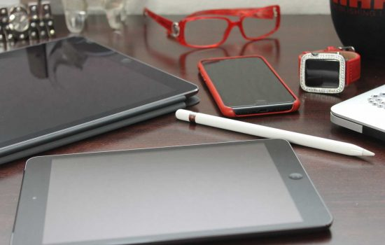 Smart Devices Wearable Technology Tech Phone Watch Tablet Electronics - image courtesy of Pixabay.