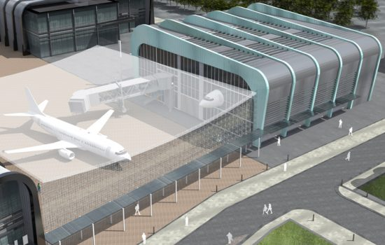 The work conducted at the Digital Aviation Research and Technology Centre (DARTeC) will shape the future of airports, aircraft, airspace and airlines – image courtesy of Cranfield.