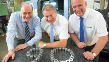 L to R: Stephen Lock, Adam Cunningham and Paul Bethell (all Muller Holdings).