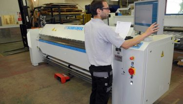 The £300,000 investment included the purchase of two new CNC machines, two new CNC folders for the metal shop and a roll forming line - image courtesy of ISD Solutions.