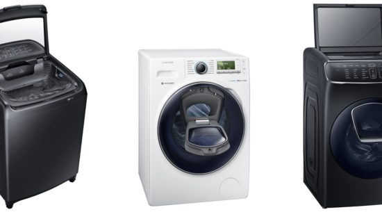 Samsung Washing Machines recently won the 'Ergonomic Design Award' at the Asian Conference on Ergonomics and Design - image courtesy of Samsung