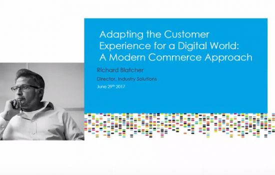 Adapting the Customer Experience for a Digital World webinar on-demand video image - image courtesy of PROS
