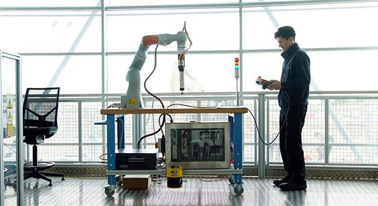 Factory 2050 is the place where businesses can come and interact with the technologies driving the 4th industrial revolution - image courtesy of AMRC