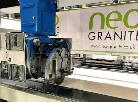 Neo Granite is the only company in the UK and the third in the world to own this industry leading machinery - image courtesy of Neo Granite