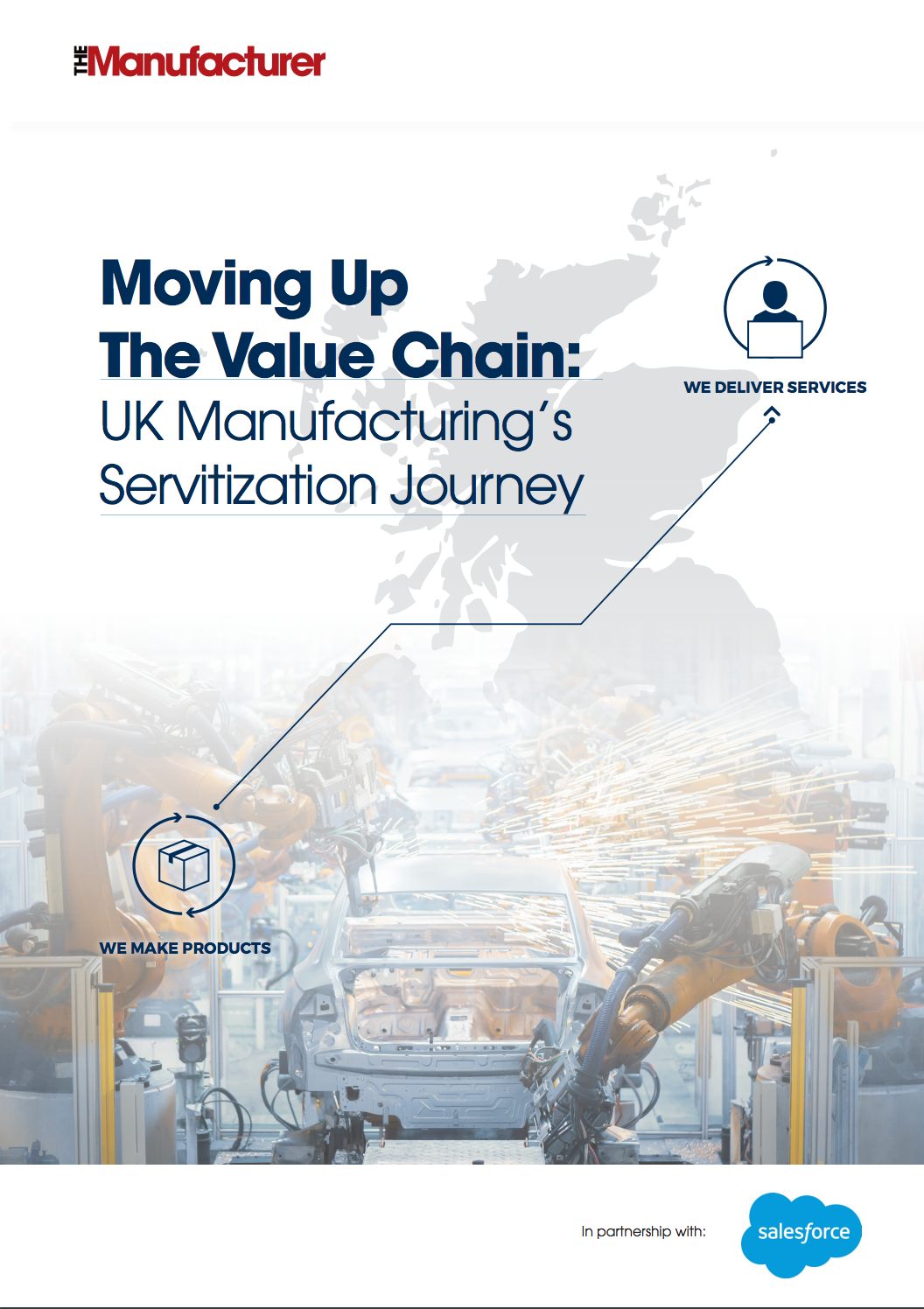 Moving Up The Value Chain: UK Manufacturing's Servitization Journey