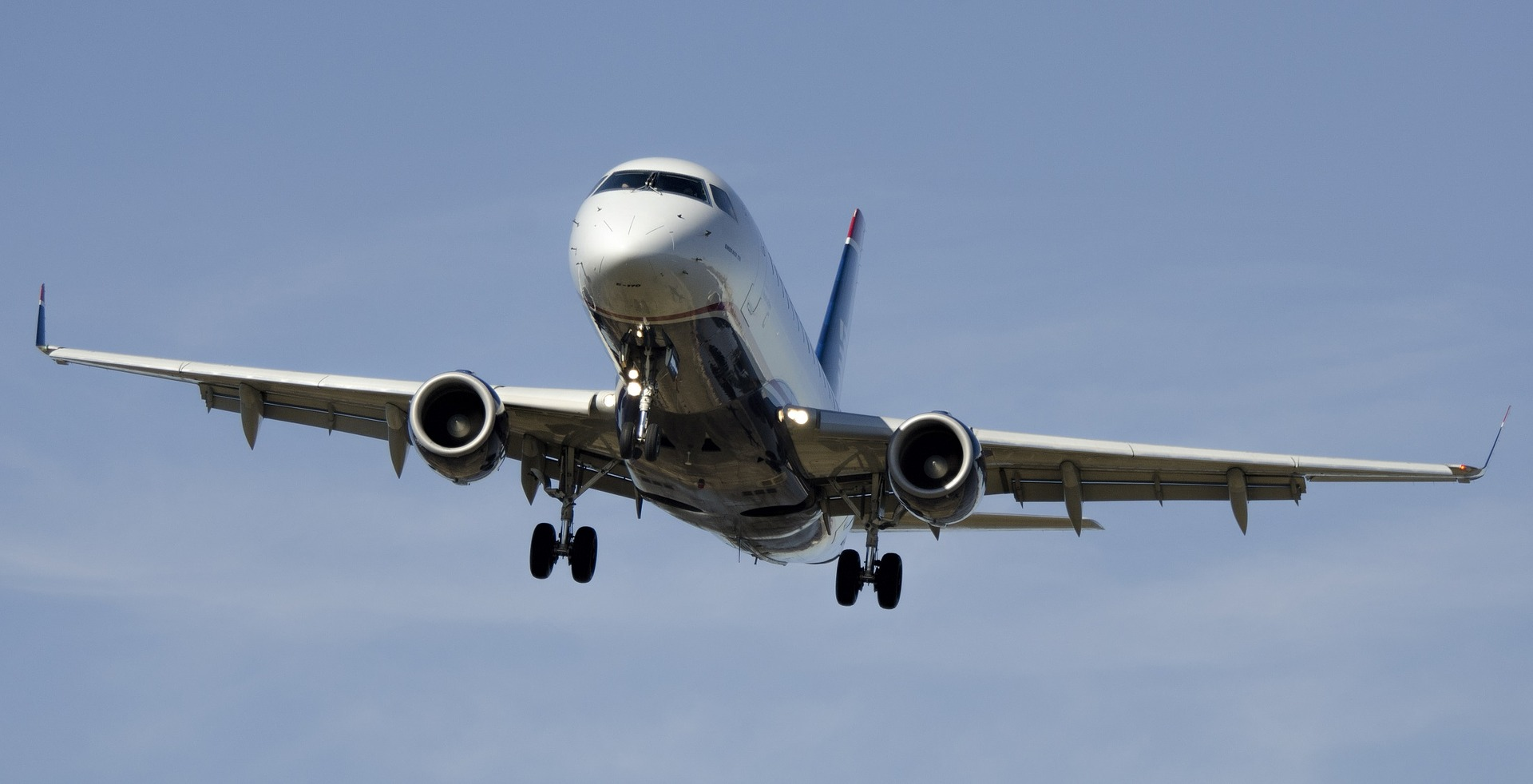 Airplane Aircraft Airline Flight Aviation Aerospace A320 Airbus Landing Wheel Travel – image courtesy of Pixabay.