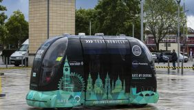 Driverless Vehicle - South Korea has ordered five of the autonomous electric pods for initial testing, with a further option on 195 - image courtesy of Westfield Sportscars.