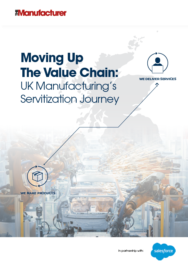 Moving up the Value Chain: UK Manufacturing's Servitization Journey - Front Cover