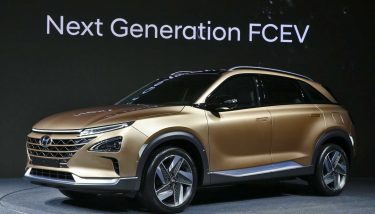 Hyundai Motors has hinted at the striking design and capabilities of its next generation hydrogen vehicle at preview event in South Korea - image courtesy of Hyundai.