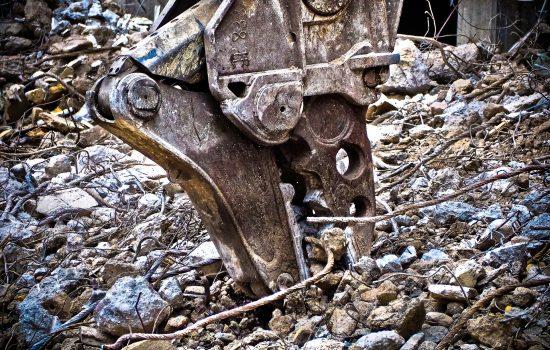 Demolition Heavy Machinery Construction - Image Courtesy of Pixabay.