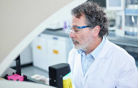 AstraZeneca and Cancer Research are collaborating to develop new cancer drugs - image courtesy of AstraZeneca